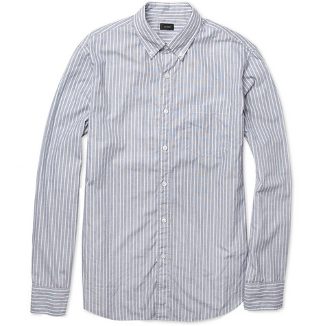 J.Crew Striped Cotton Shirt