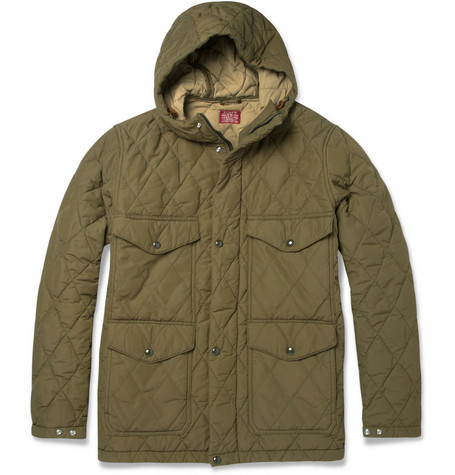J.Crew Quilted Cotton-Blend Jacket