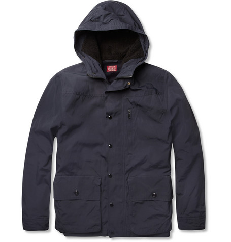J.Crew Wool-Trimmed Hooded Parka Jacket