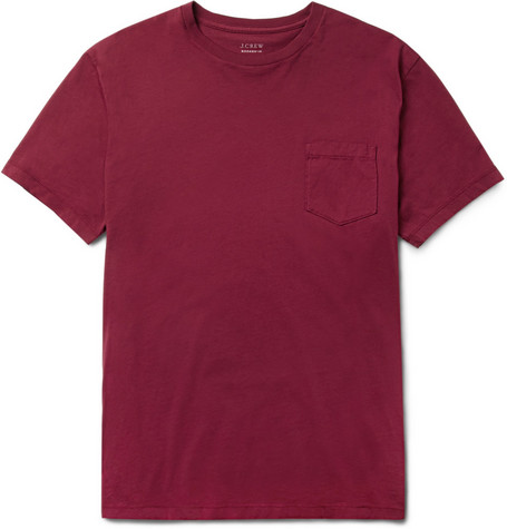 J.Crew Cotton Crew Neck T-Shirt