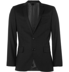 J.Crew Black Ludlow Wool Suit Jacket