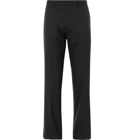 J.Crew Black Ludlow Wool Suit Trousers