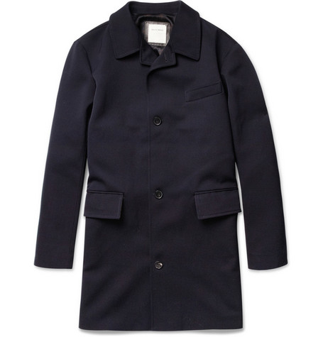 Billy Reid Sunday Slim-Fit Wool Overcoat