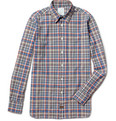 Billy Reid - Lindsey Plaid Cotton Shirt