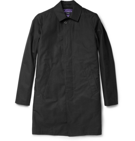Paul Smith London Slim Single-Breasted Cotton Trench Coat