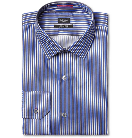 Paul Smith London Slim-Fit Striped Cotton Shirt