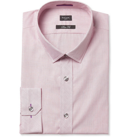 Paul Smith London Micro Check Cotton Shirt