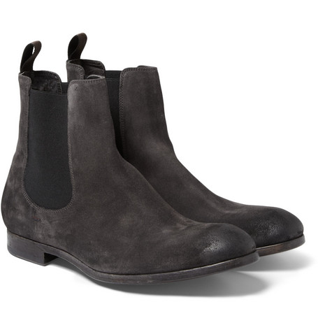 Paul Smith Shoes & Accessories Suede Chelsea Boots