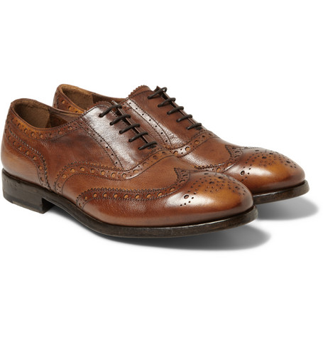 Paul Smith Shoes & Accessories Leather Wingtip Brogues