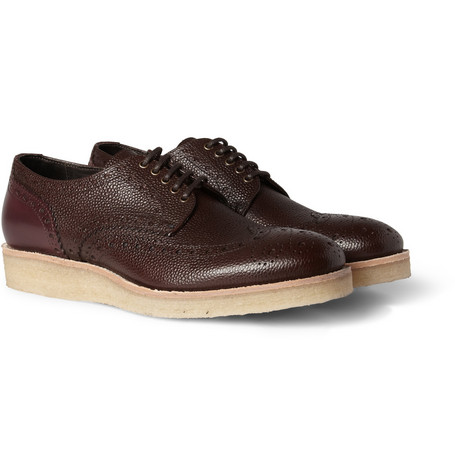 Paul Smith Shoes & Accessories Crepe-Sole Leather Brogues