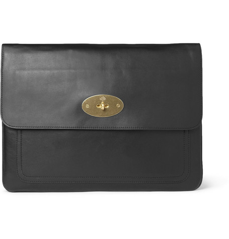 Mulberry Bayswater Leather 15'' Laptop Case