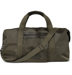 Mulberry Henry Woven-Nylon and Textured-Leather Holdall
