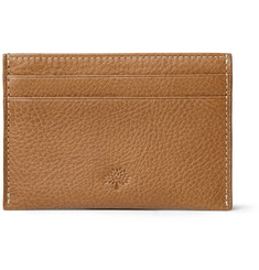 Mulberry Cross-Grain Leather Card Holder
