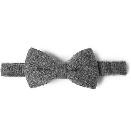Burberry London Blake Knitted Cashmere Bow Tie