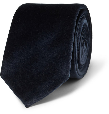 Burberry London Rowan Velvet Tie