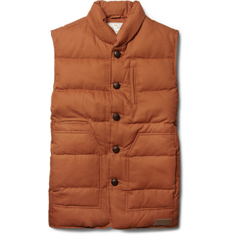 Aubin & Wills Edderside Quilted Cotton Gilet