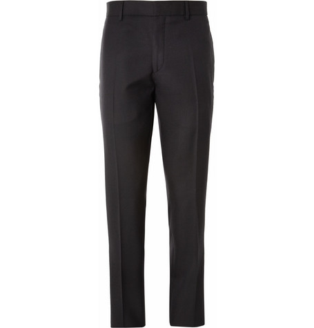 Aubin & Wills Huntsaw Slim-Fit Wool-Twill Trousers