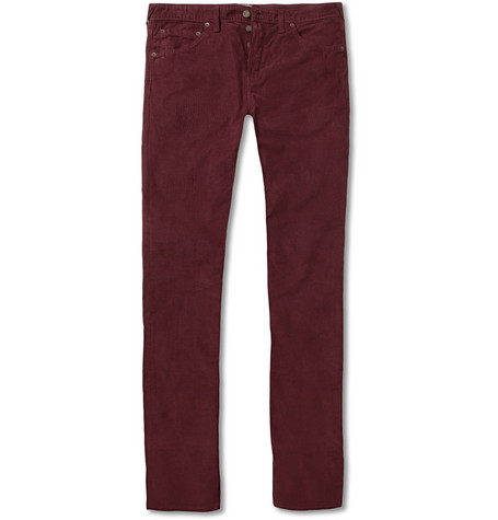 Aubin & Wills Amblecoat Slim-Fit Corduroy Trousers