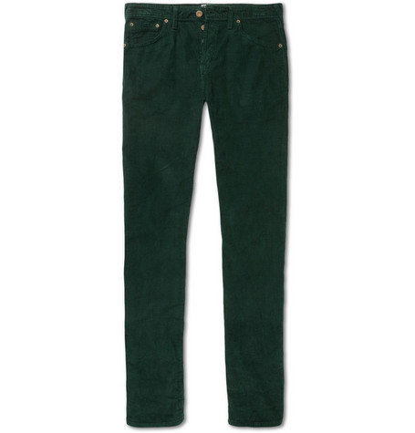 Aubin & Wills Slim-Fit Corduroy Trousers