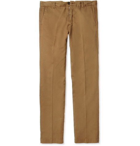 Aubin & Wills Cotton-Twill Trousers