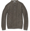 Richard James Hand-Knitted Wool Cardigan