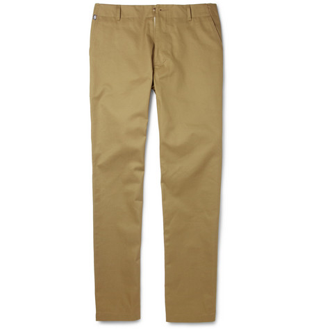 Richard James Straight-Leg Cotton-Twill Trousers