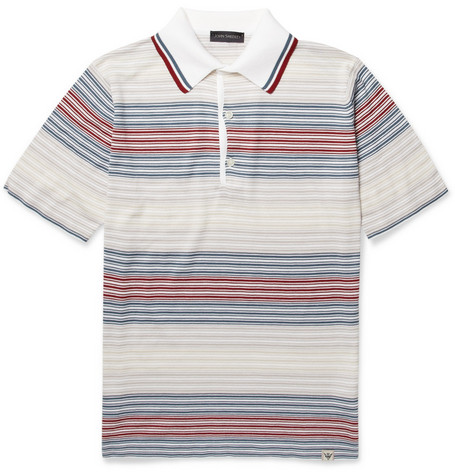 John Smedley Forte Sea Island Cotton Polo Shirt