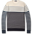 John Smedley Craft Striped Merino Wool Sweater