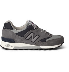 New Balance 577 Suede and Mesh Sneakers