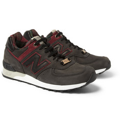 New Balance 576 Andy Mandle Nubuck Leather Sneakers