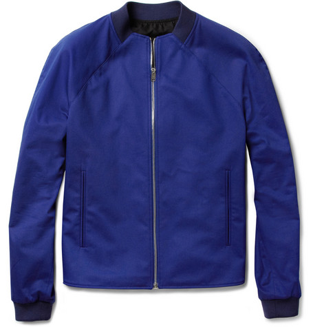 Balenciaga Cotton-Blend Bomber Jacket