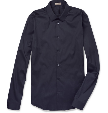Balenciaga Slim-Fit Cotton-Blend Shirt