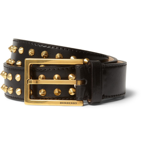 Burberry Prorsum Studded Leather Belt