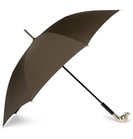 Burberry Prorsum Dog Handle Umbrella