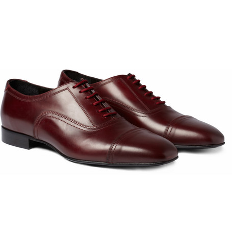 Burberry Prorsum Leather Oxford Shoes