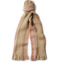 Drake's Lambswool and Angora-Blend Scarf