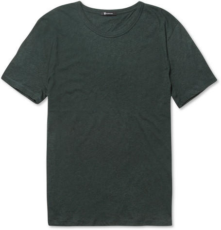 Alexander Wang Crew Neck Cotton-Jersey T-Shirt
