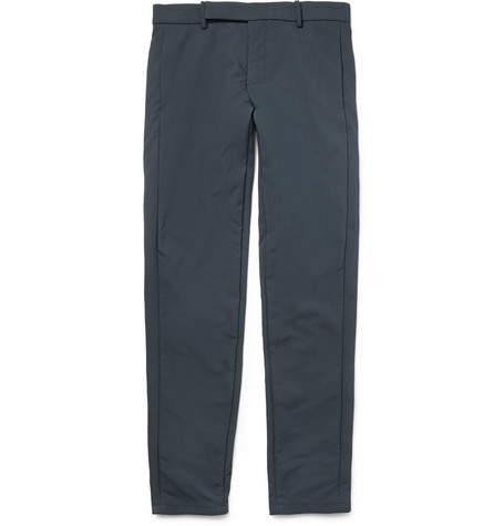 Alexander Wang Slim-Fit Technical Piqué Trousers