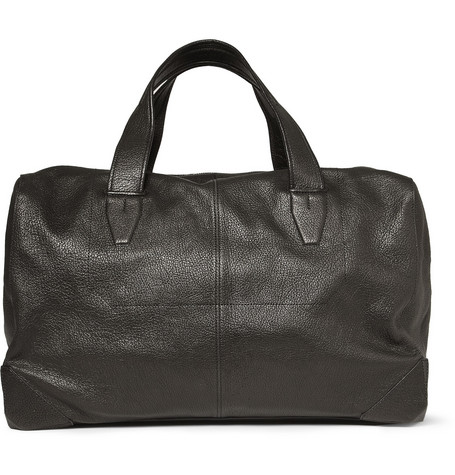 Alexander Wang Wallie Pebble-Grain Leather Holdall