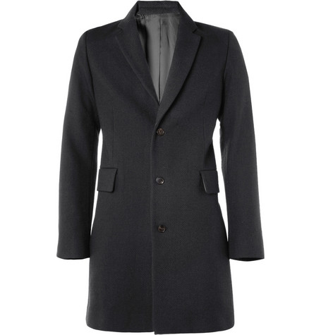 Acne Moberg Textured Wool-Blend Coat
