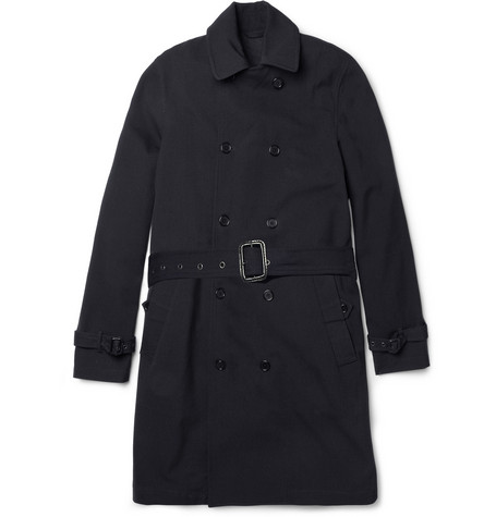 Acne Studios Saramago Double-Layered Trench Coat