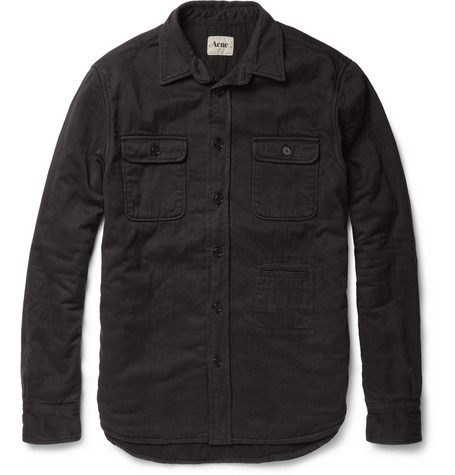 Acne Studios Mailer Woven-Cotton Overshirt