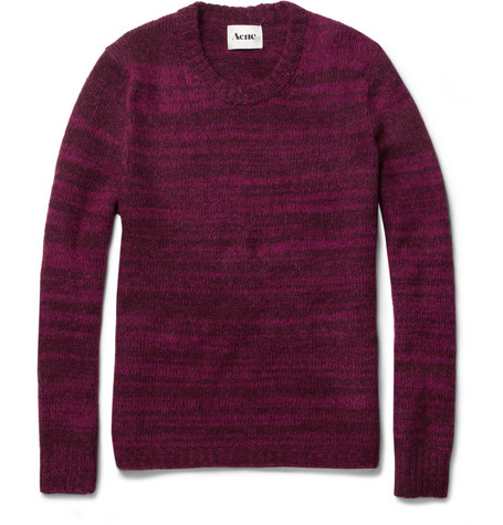 Acne Singer Wool and Mohair-Blend Sweater