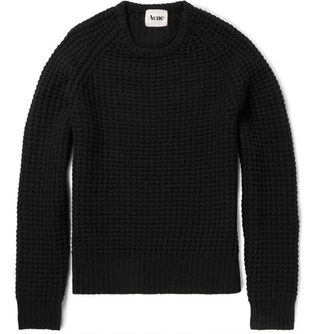 Acne Strindberg Chunky-Knit Wool Sweater