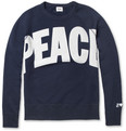 Acne Studios College Peace Loopback-Cotton Sweater