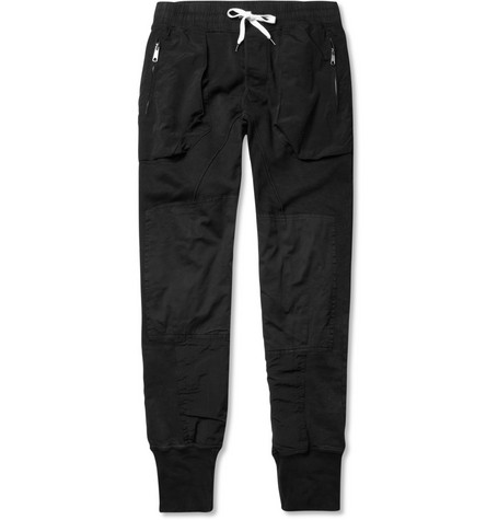 Acne Johnston Contrast-Panel Sweatpants
