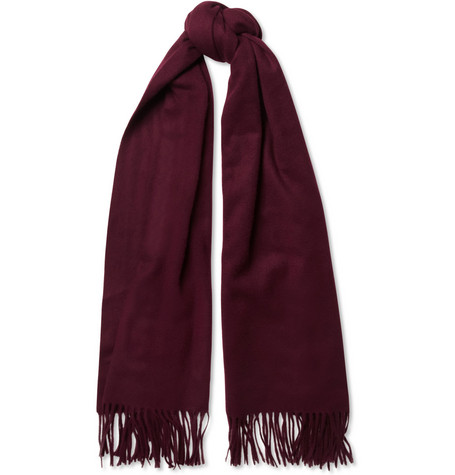 Acne Canada Oversized Brushed-Lambswool Scarf