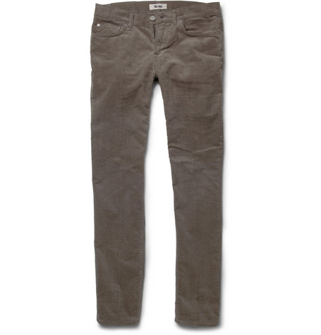 Acne Ace Slim-Fit Corduroy Trousers