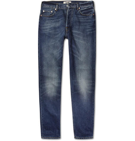Acne Bob Vintage Washed Straight-Leg Jeans