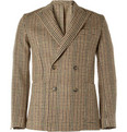 AMI - Slim-Fit Wool Houndstooth Blazer